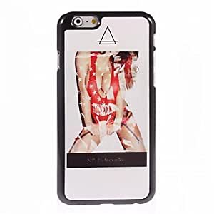 ZL Hot Sexy Woman Design Aluminum Hard Case for iPhone 6