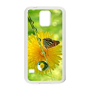 The Attractive Butterfly Hight Quality Plastic Case for Samsung Galaxy S5