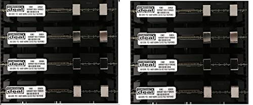 64GB (8 X 8 GB) RAM Memory Compatible with MAC PRO 2008 3,1 and 3,2 (2.8 3.0 3.2) (DDR2 800MHz PC2-6400 ECC FB DIMM) ECC Fully Buffered