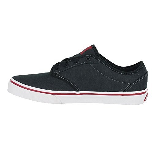 Textile Chilipepper Low Vans Black Boys' Yt Atwood Top Sneakers SawqwO80x