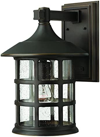 Hinkley 1805OZ Traditional One Light Wall Mount from Freeport collection in Bronze Darkfinish,
