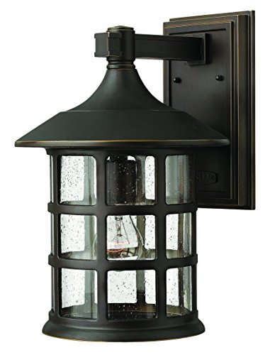 Hinkley 1805OZ Traditional One Light Wall Mount from Freeport collection in Bronze/Darkfinish,