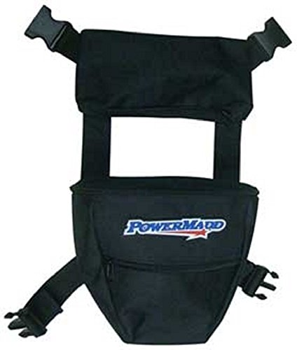 PowerMadd Orange Cycle Parts Handlebar Storage Bag Deluxe Hat Sack for Motorcycle, PWC, ATV, Snowmobile and More 73602