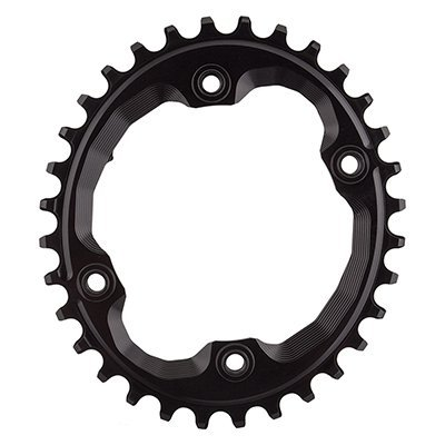 ABSOLUTE BLACK Shimano Oval Traction Chainring Black/96 BCD (M9000 XTR), 32t