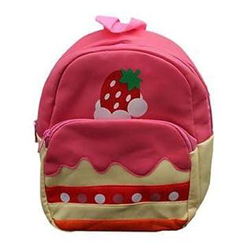 609ff18b00 Amazon.com   Pink Cake Baby Childrens Boys Girls Backpack School Bag  Rucksack Kds-bg-b09   Camping Child Carriers   Baby