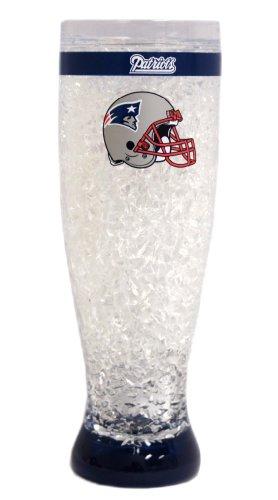 New England Patriots Beer - New England Patriots Crystal Pilsner Glass