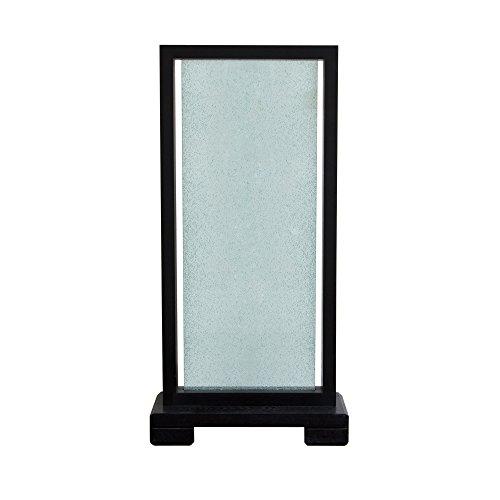 Diamond Sofa Single Panel Crackled Glass Room Partition