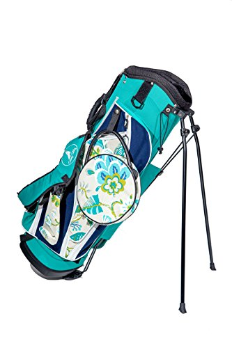 Sassy Caddy Women's Golf Stand Bags, Navy/Teal/Cream