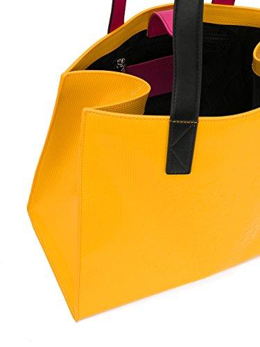 Kenzo Borsa Shopping Donna F762SA602B50GIALLO Poliuretano Giallo
