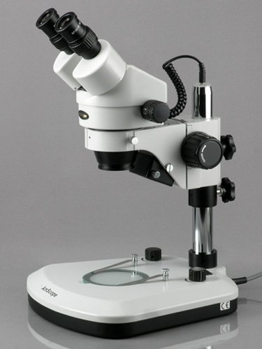 AmScope SM-1BZ-PL Binocular Stereo Zoom Microscope with Barlow Lens by AmScope