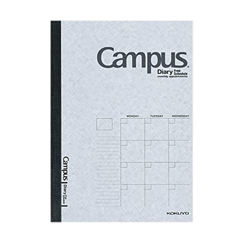 Kokuyo campus type A5 diary free two-CF103 (japan import)