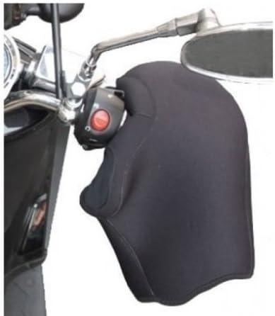 Scooters et Poignets Noirs Compatible avec Piaggio XEVO 125 Manchons en n/éopr/ène imperm/éable OJ JC010 Couvertures universelles pour Motos