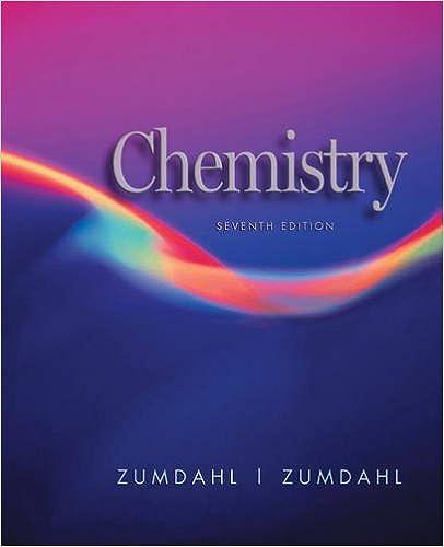 zumdahl chemistry 7th edition