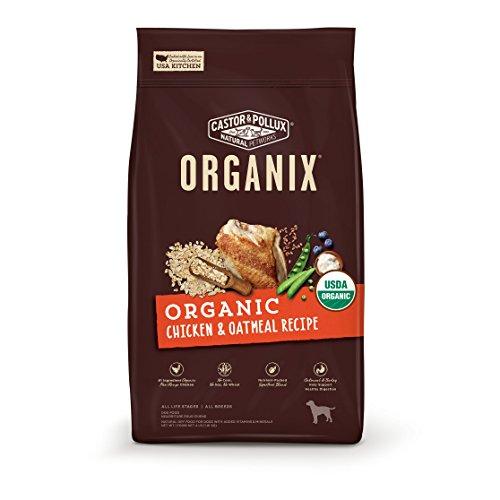 (Castor & Pollux Organix Organic Chicken & Oatmeal Recipe Dry Dog Food 18Lb)