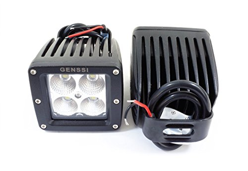 Cheap Genssi Duely Floodlight Flood Grille Bumper Bar Light 4×4 Off Road 20W (Pack of 2)