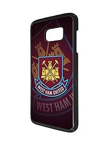 (Football) Club Samsung Galaxy S7 Edge Fundas Case for Girl Woman , Original Western Ham United FC Fundas Case Football Sport Theme Trendy Soft Flexible Extremely Thin