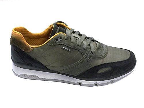 Geox - Zapatillas para hombre verde Verde media