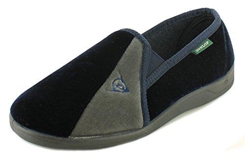 Dunlop Duncan hommes chaussons, marine