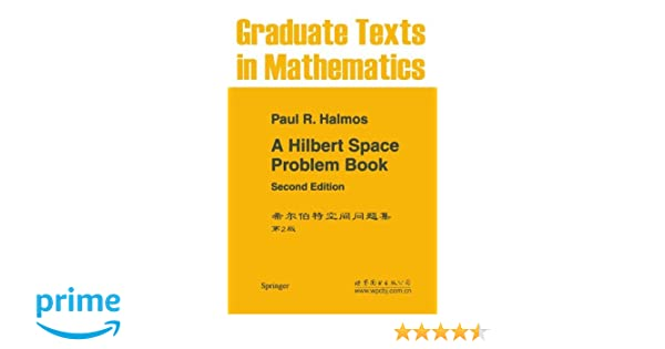 A hilbert space problem book graduate texts in mathematics pr a hilbert space problem book graduate texts in mathematics pr halmos 9780387906850 amazon books fandeluxe Gallery