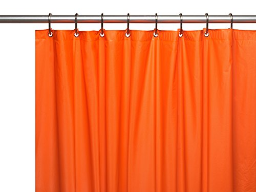 Hotel Brights Collection Extra Heavy Bright de calibre 8 Vinilo Ducha Cortina (182,9 x 182,9 cm)