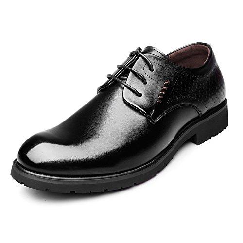 Noir CN24.5 M.Y.D Chaussures Richelieus Professionnels en Cuir véritable à Lacets décorés de Chaussures de Sport Le Cuir