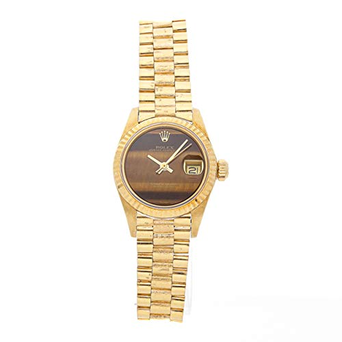Rolex Datejust Mechanical (Automatic) Brown Dial Womens Watch 6916 (Certified Pre-Owned) ()