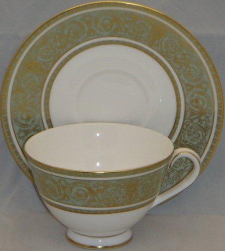 Royal Doulton English Renaissance Footed Cup & Saucer Set