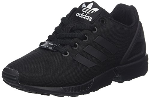 core Black 0 Mixte Basses Flux Adidas core Zx Black Adulte Baskets Noir Sw6n1nz