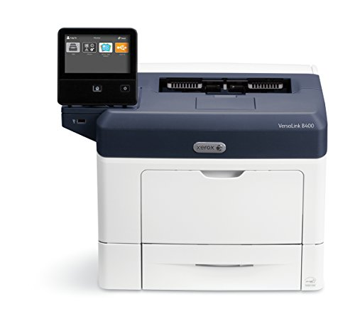 Xerox VersaLink B400/DN Black and White Laser Printer, letter/legal, up to 47ppm, USB/ethernet, automatic duplexing, 550 sheet tray, 150 sheet multi purpose tray