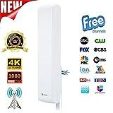 Best Indoor Attic Hd Antennas - ANTOP HDTV Outdoor Indoor Antenna for Digital TV Review
