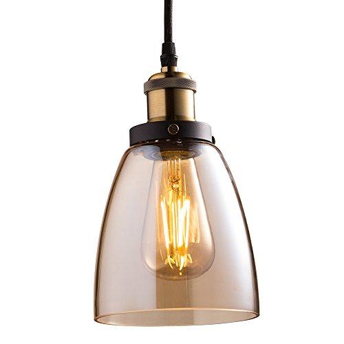 LED Vintage Pendant Fixture, 5.7