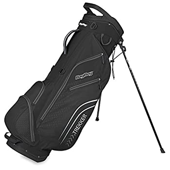 Image of Bagboy Unisex's Trekker Ultra Lite Stand Bag, Black/Charcoal, One Size Cart Bags