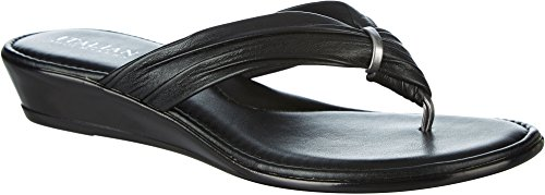 ITALIAN Shoemakers Womens Vivienne Sandals 8 (Womens Black Italian)