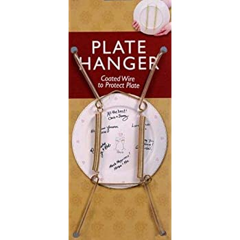 Creative Hobbies® Plate Display Hangers Spring Style Expandable to Hold 10  to  sc 1 st  Amazon.com & Amazon.com: Creative Hobbies Plate Display Hangers Spring Style ...