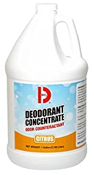 Big D 1208 Deodorant Concentrate, Citrus Fragrance, 1 Gallon (Pack of 4)
