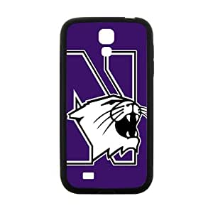 Northwestern Wildcats Design Plastic Case Cover For Samsung Galaxy S4