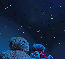 Glow in the Dark Star Stickers (528 pack) with Bonus Constellation Map. Long Lasting Self-Adhesive Dots Provide Realistic Starry Sky View on Ceiling or Wall for any Kid's or Adult Room
