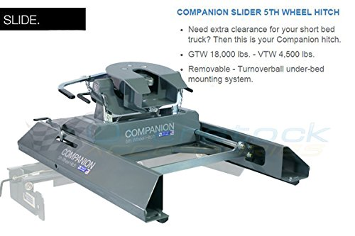 B&W Trailer Hitches RVK3400 Companion Slider 5th Wheel Hitch