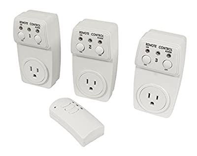 Useful UH-RP159 Remote Controlled Electrical Plug & Outlet / Wireless Electrical Switch Socket