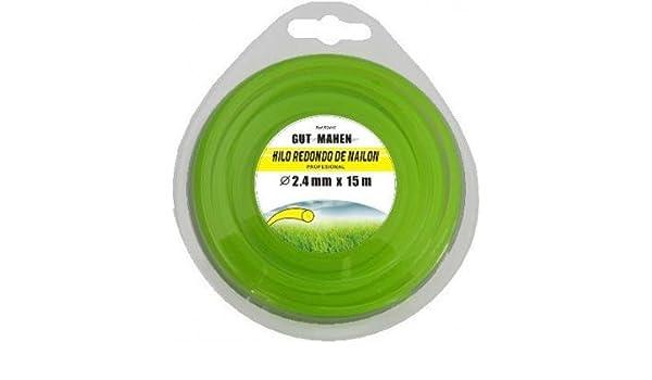 Ausavil2. S.L. - Hilo desbrozadora nylon redondo 3.3x150m: Amazon ...
