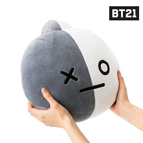 BT21 Van Cushion 11.8 inches White_Gray