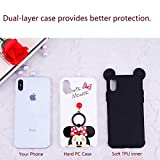 iPhone Xs Max Case, MC Fashion Cute Cartoon Mouse