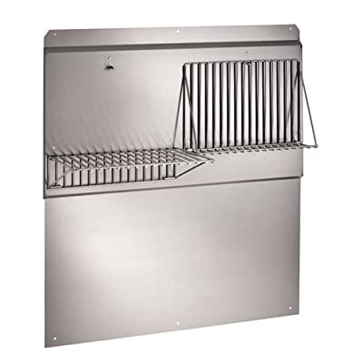 Broan RMP4804 Stainless Steel Backsplash, 48-Inch