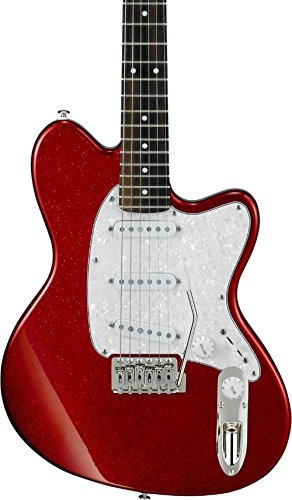 Guitar Red Electric Sparkle (Ibanez Talman series TM330P Electric Guitar Red Sparkle)