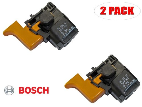 Bosch Switch (Bosch 11200VSR Electric Drill Replacement On Off Switch # 1617200066 (2 PACK))