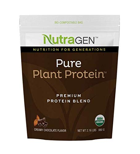 NUTRAGEN PURE PLANT PROTEIN CREAMY CHOCOLATE FLAVOR Packaging may vary
