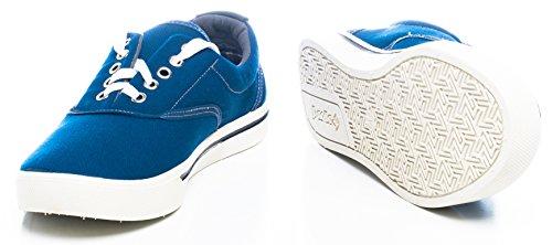 Paolla Mens 122 Slip-Ons Shoes Blue BZCEuWM