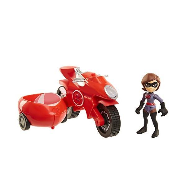 41IiivJd7wL The Incredibles 2 Elasticycle & Elastigirl Vehicle Playset Action Figure