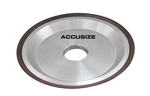 Accusize - 6' Dish Style Diamond Wheel, Type D12V9, EC81-0866 Accusize Co.