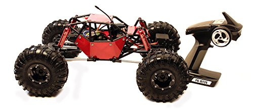 Gmade 51011 R1 Rock Crawler Buggy Ready to Run 1/10 Scale with A Tube Frame and 4WD RC Vehicles ()